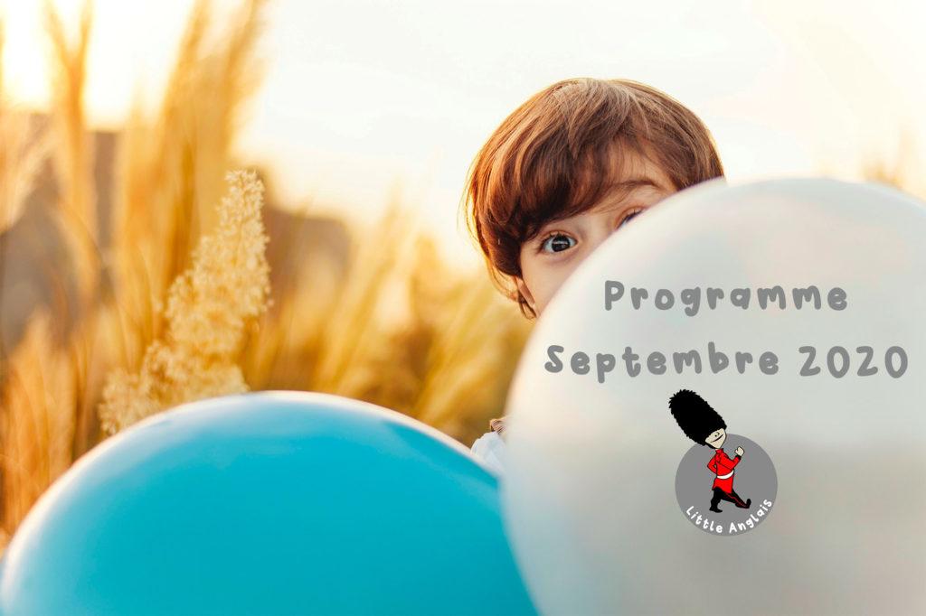 Détail des programmes mensuels d'activités pour enfants