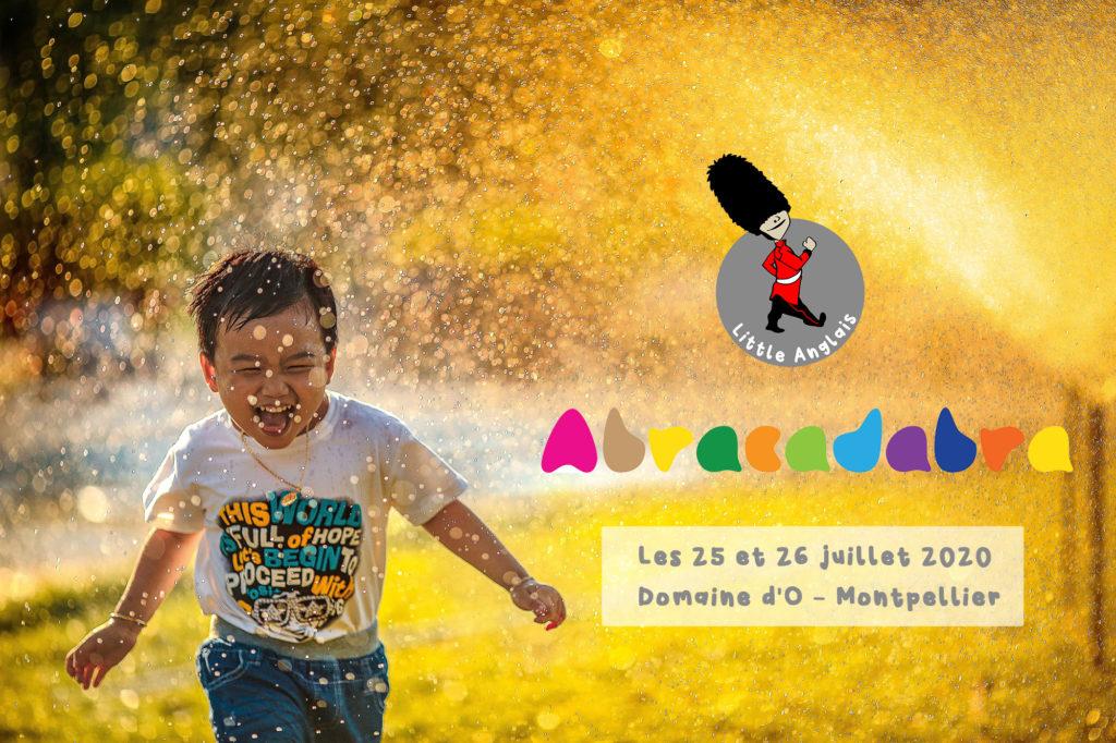 Little Anglais Montpellier present au Festival pour enfants Abracadabra sur Montpellier