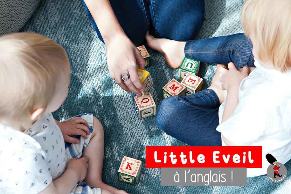 Little Éveil, nouvel atelier pour les enfants de 2 à 4 ans chez Little Anglais Montpellier