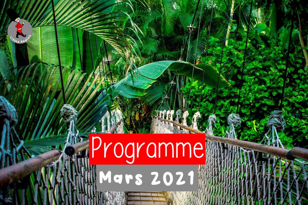 Programme mars 2021 Little Anglais Montpellier
