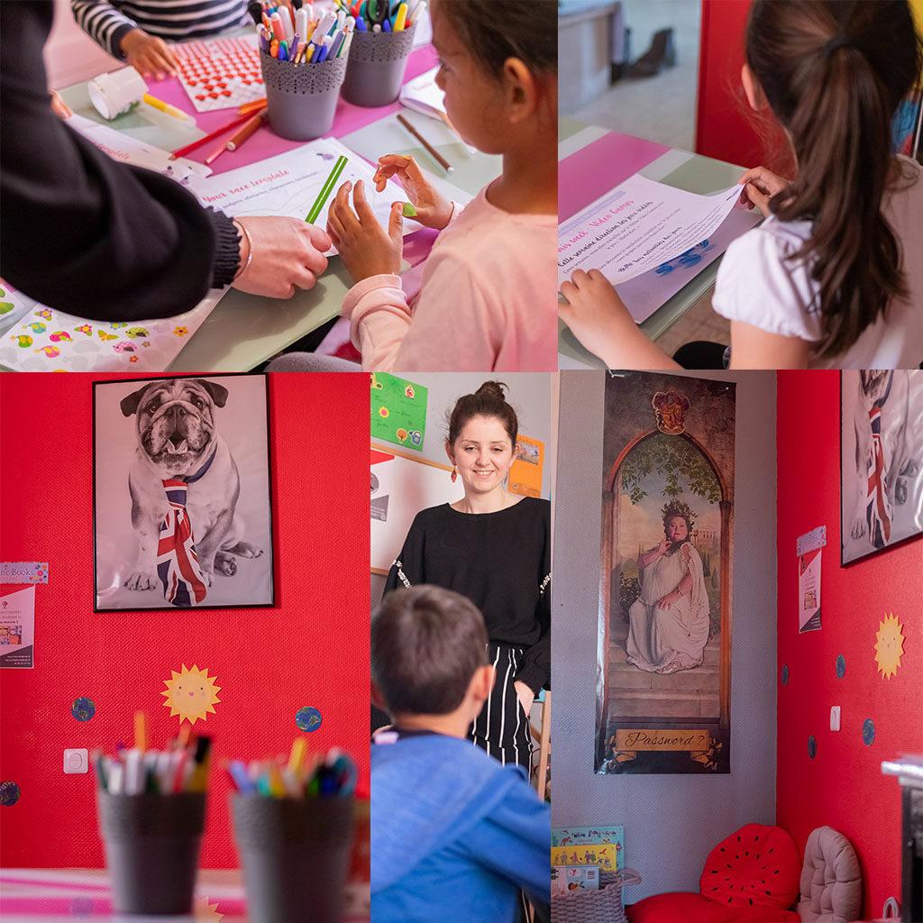 Environnement Little Anglais Montpellier salle des ateliers au 7 rue des roitelets 34000 Montpellier
