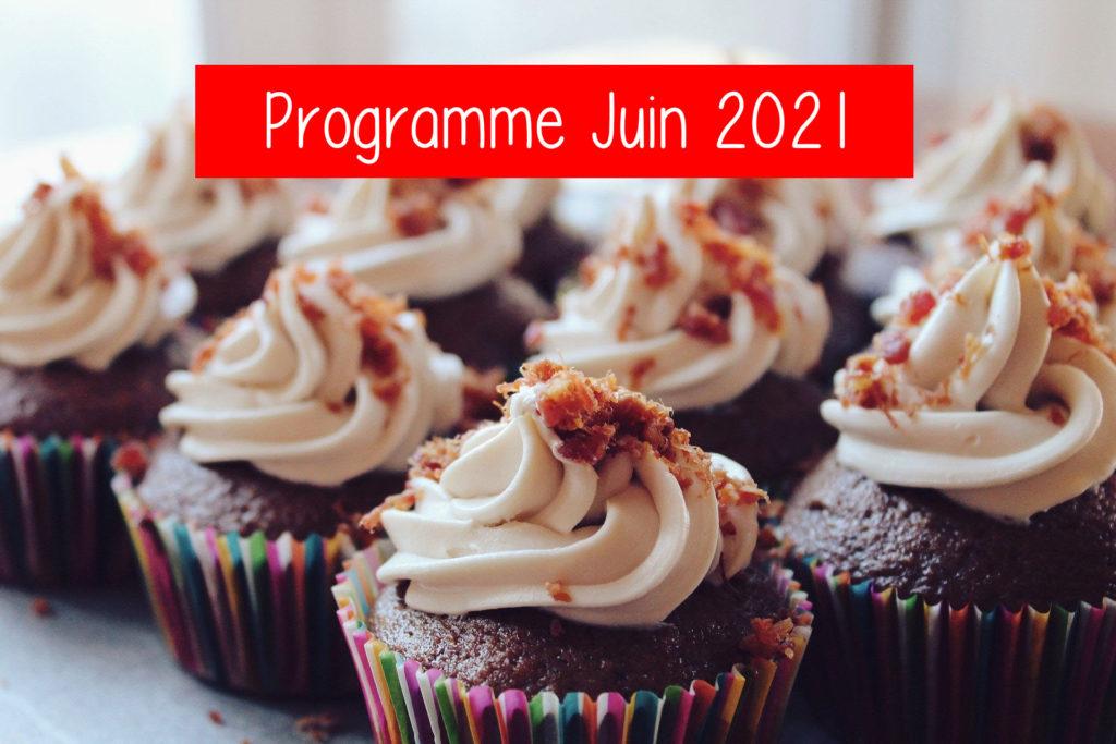 Mise en avant programme juin 2021 chez Little Anglais Montpellier